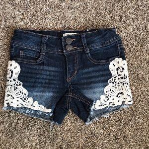 Mudd Girls Denim Shorts